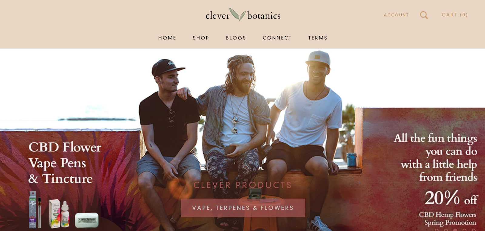 Clever Botanics | Hemp and CBD Treats