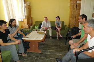 Photo: At Vate Publishing House, Istanbul 2013