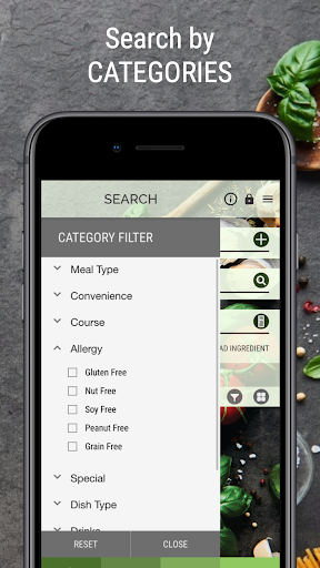 vegan recipe browser screenshot 3