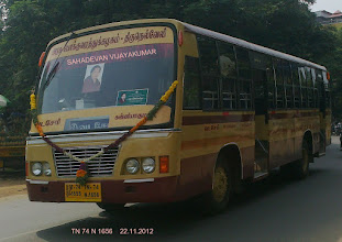 Photo: A brand new bus of Nagercoil region TN 74 N 1656 of Kanyakumari Depot.