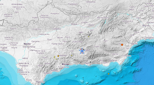 Nuevos terremotos de hasta 4,3 grados vuelven a sacudir Granada