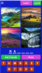 4 pictures 1 word- screenshot thumbnail
