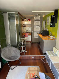 Studio meublé 15,29 m2