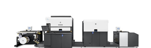 HP Indigo 6900 digital press.