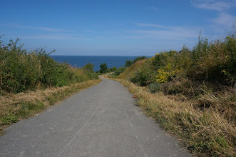 Photo: Cycle path to from #Rønne to #Hasle