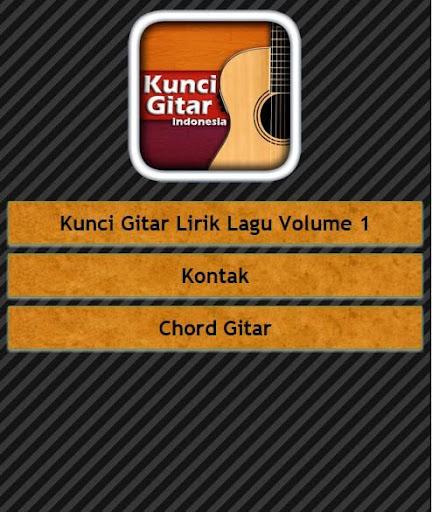 Cord Gitar: Kunci Gitar Musik Indonesia For Android