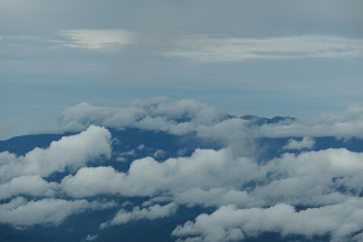 乗鞍岳は雲の中
