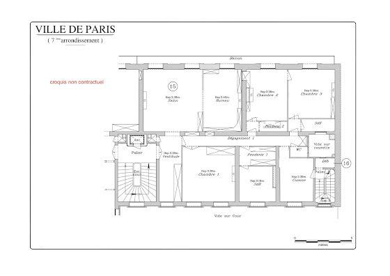 Vente appartement 5 pièces 162,25 m2