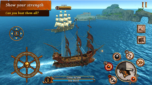 Ships of Battle - Age of Pirates - Warship Battle  screenshots 17