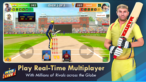 WCB LIVE: Cricket Multiplayer 2020 modavailable screenshots 5