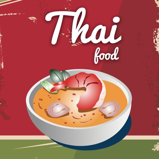 泰國 食品。快速輕鬆地烹飪。最佳美食傳統配方和經典菜餚。食譜 健康 LOGO-玩APPs
