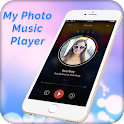 My Photo Music Player With My Photo Background icon