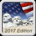 Free US Citizenship Test 2017 icon