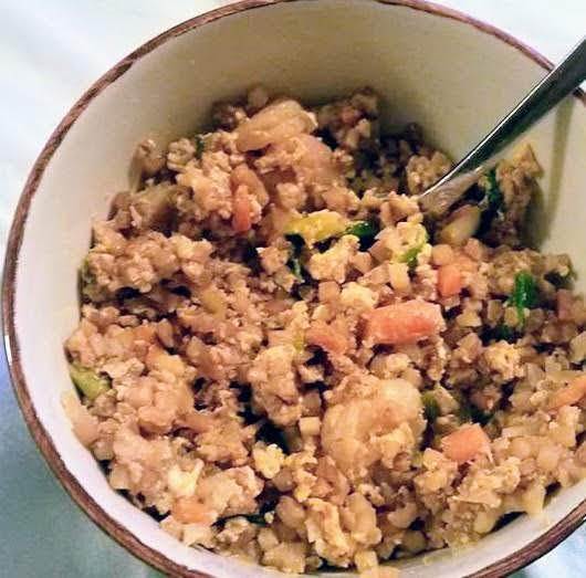 Shrimp Fried Rice With Riced Cauliflower