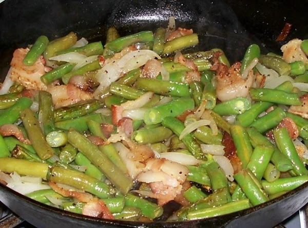 Peggi's Fried Green Beans Recipe