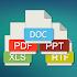 All Document Reader: PDF, PPT, RTF, DOC, ODF, XLSX