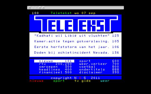 Teletekst - Chrome Web Store