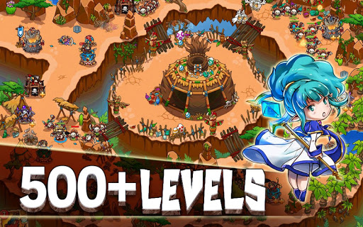 Crazy Defense Heroes: Tower Defense Strategy TD 1.9.9 screenshots 10