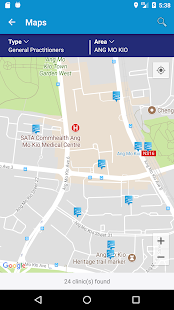 MHC Clinic Network Locator - náhled