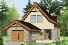 projekt domu Gaweł z garażem 1-st. A