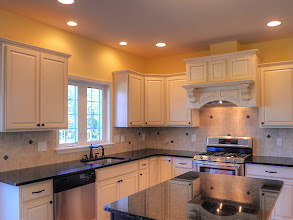 Photo: The custom kitchen in one of our BELLE GROVE II homes.