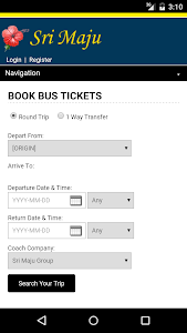 Sri Maju Bus Ticket screenshot 0