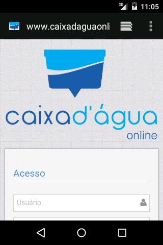 Caixa Dagua Online