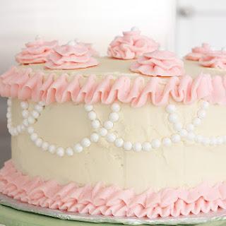 Bakery Style Vanilla Sponge Cake.