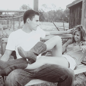 Newly Engaged. Love. by Ashley Vanley - People Couples