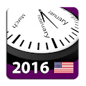 2016 US Holiday Calendar
