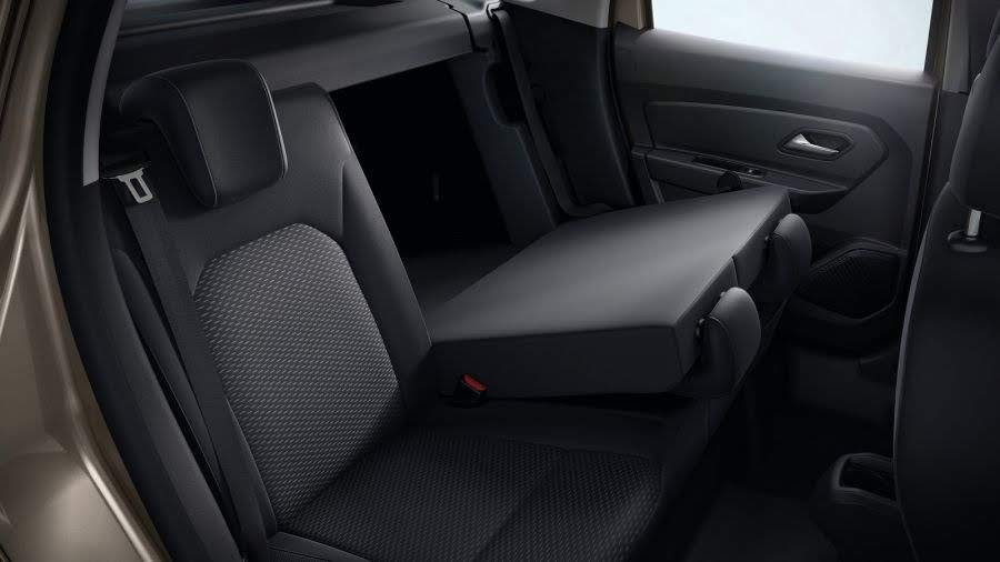 Задний ряд сидений Renault Duster