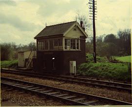 Photo: Charlbury Signal box (1969)
