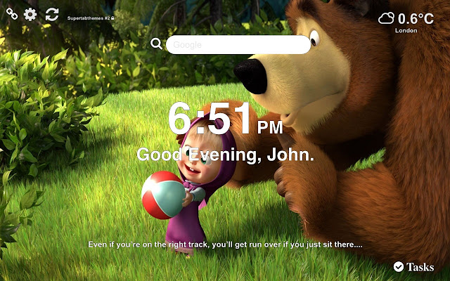 Masha and the Bear Wallpapers New Tab