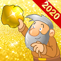 Gold Miner Classic: Gold Rush, Mine Mining Game icon