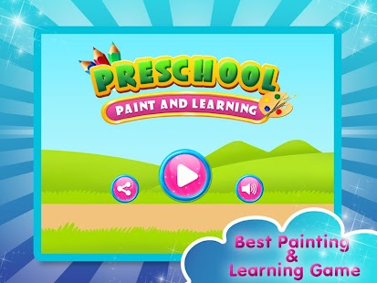 Preschool Paint And Learning - náhled