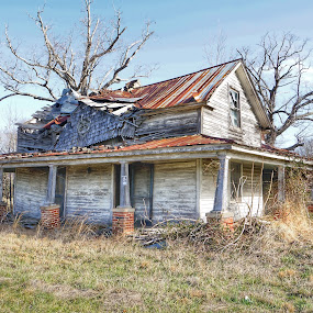 Abandoned lady by Debra Graham - Buildings & Architecture Decaying & Abandoned