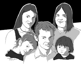 Photo: Not Quite 366 Avatars Project 2012 Running on very little sleep this week. I think I'm going to turn in early. Here's the lovely MacMhiceil family. G'night, trusty Plussers.  get your own avatar http://cdowd.com/avatars