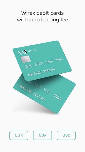 WIREX: Bitcoin Ethereum Litecoin XRP Wallet 2.7.0 screenshots 2