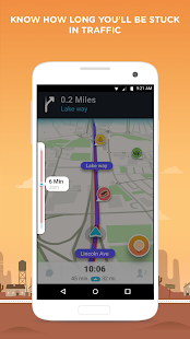 Waze - GPS, Maps & Traffic Screenshot