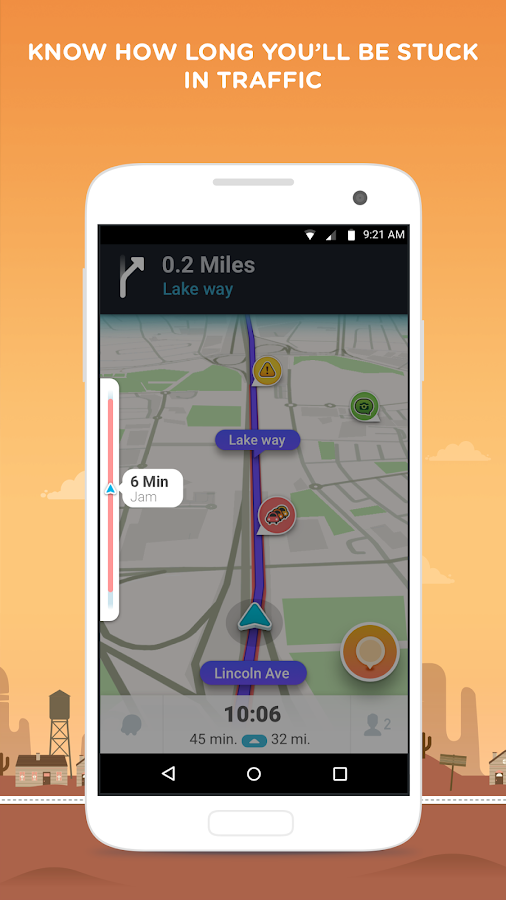 Waze - GPS, Maps & Traffic- screenshot