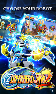 Superhero War Premium: Robot Fight - Action RPG Screenshot