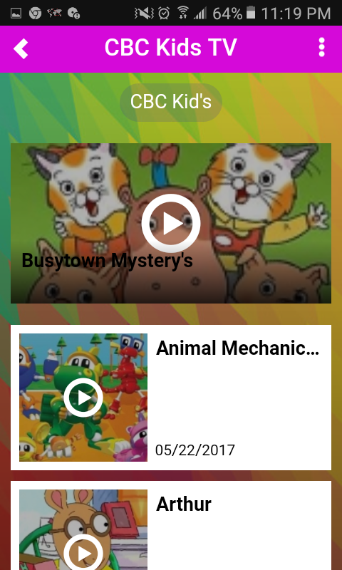 Free Kid's Cartoons- screenshot