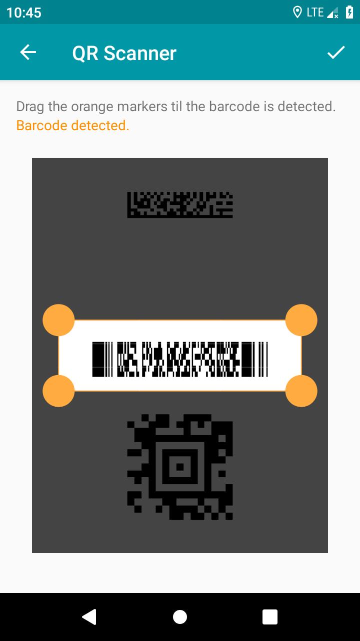 QR & Barcode Reader (Pro) Screenshot 4