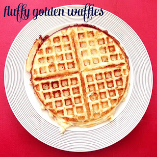 Fluffy Golden Waffles Recipe