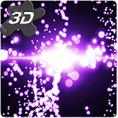 Radiant Particles Glitters 3D Live Wallpaper