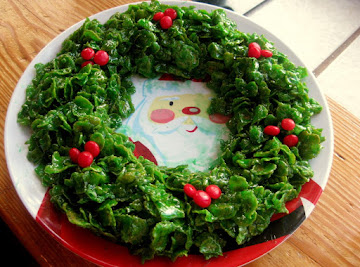 Candy Christmas Wreaths Recipe