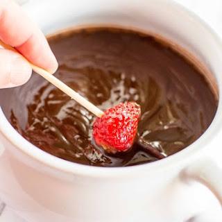 Crockpot Chambord Chocolate Dip