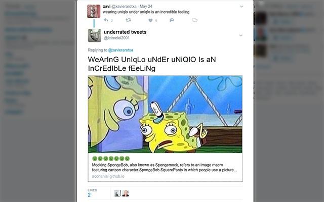 spongemock for twitter