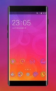Neon Shiny Theme Fluorescent Wallpaper & Icon Pack - náhled