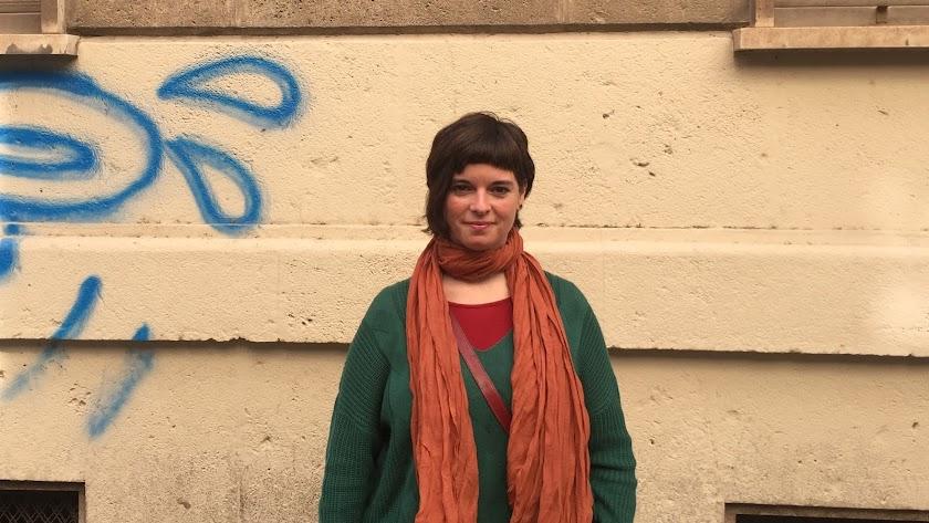 Elena Pedrosa llegó en 2001 a Almería, ciudad que hoy considera su casa.
